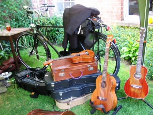 Pashley Roadster and Ukuleles